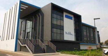 An exterior view of the Serra Services building in Gauteng.