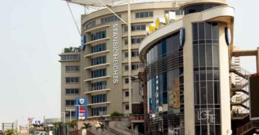 The Stanbic Heights building in Accra, Ghana.