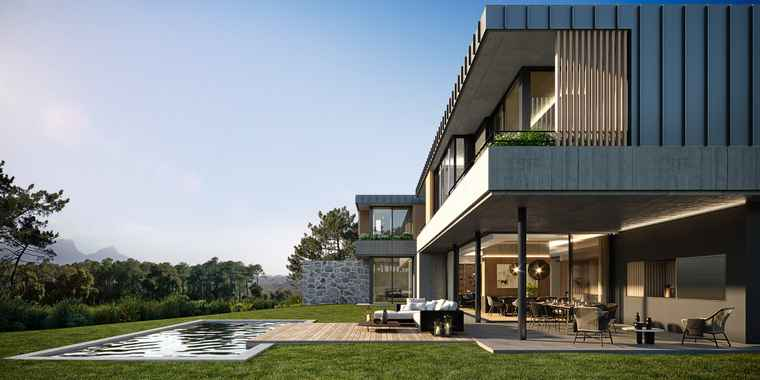 An artist's impression of one of the homes at Steenberg Green.