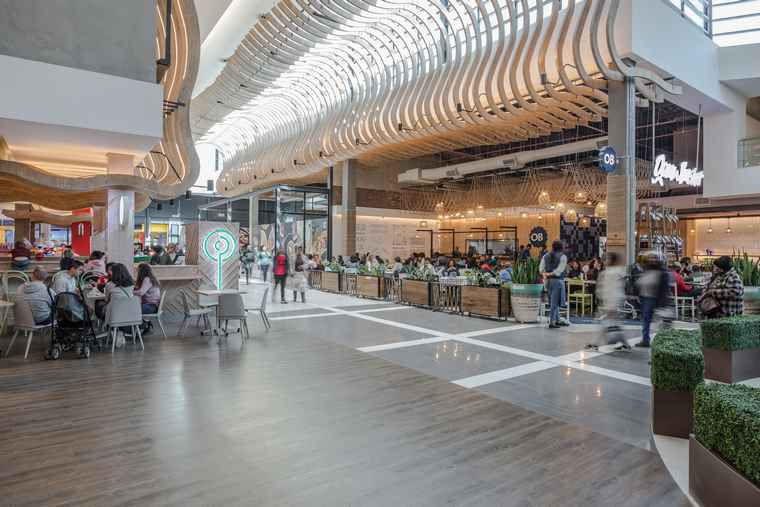 Hyprop's The Glen Shopping Centre in Johannesburg.