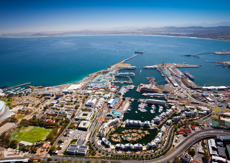 V&A Waterfront harbour