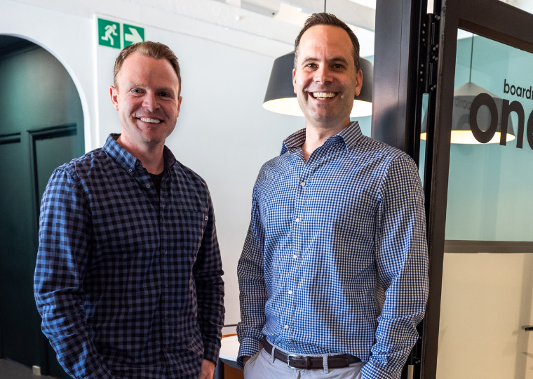 Mark Forrester and Jonothan Rawson, co-founders of Castle One.