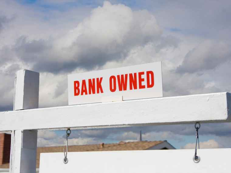 Bank foreclosure / distressed property