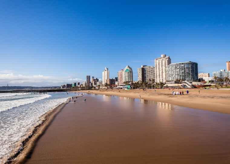 Durban's beachfront