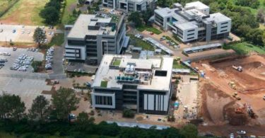 Westend Building C in Centurion, developed by Abland, received its 4-Star Green Star SA Design certification just weeks before South Africa went into lock down.