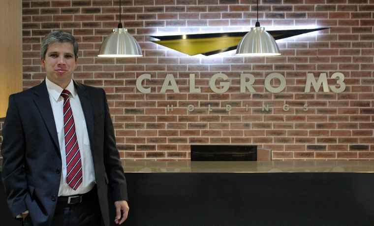 Calgro M3 CEO, Wikus Lategan.
