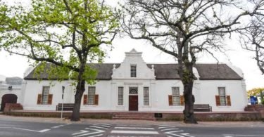 An exterior view of the Atterbury's new co-working concept, Attspace at the La Gratitude Manor House in Stellenbosch.