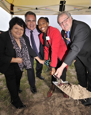 Affordable Housing Development begins in Rugby