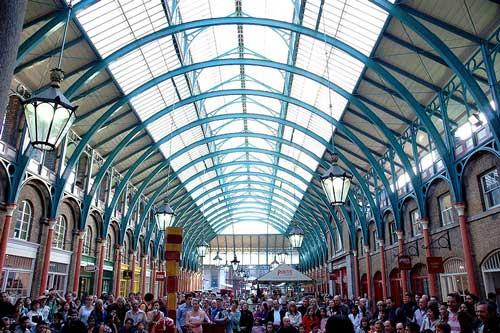 Covent Garden, London. Image credit: Josep Renalias, Wikimedia