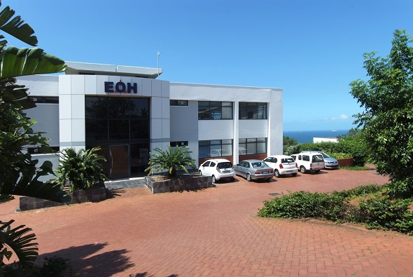 In a lease concluded through Chantal Williams, commercial and retail property broker for JHI Properties in KwaZulu-Natal, EOH now occupies this entire building in Cranbrook Crescent in La Lucia Ridge Office Estate