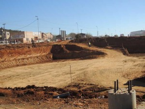 Eyethu Orange Farm Mall site –Earthworks have commenced