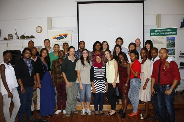 Environmental interns 2012-13