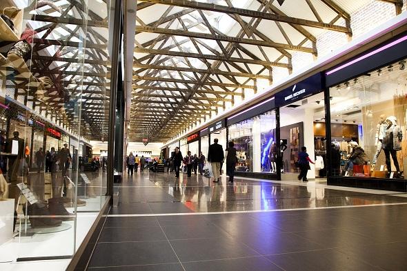 Interior image of Middelburg Mall