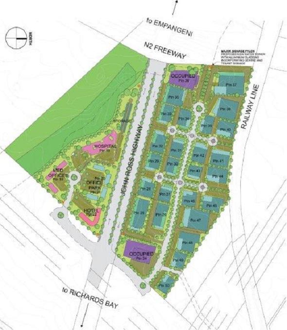 John Ross Site Plan