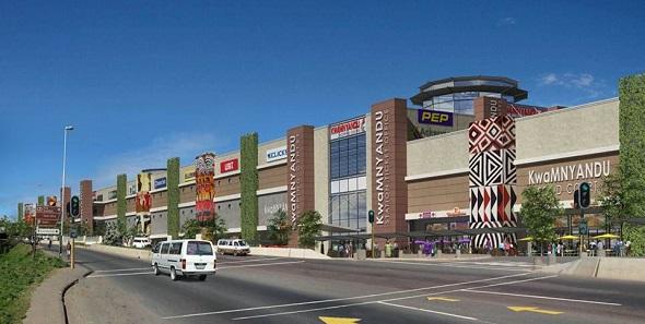 Kwa Mnyandu Shopping Centre - street view