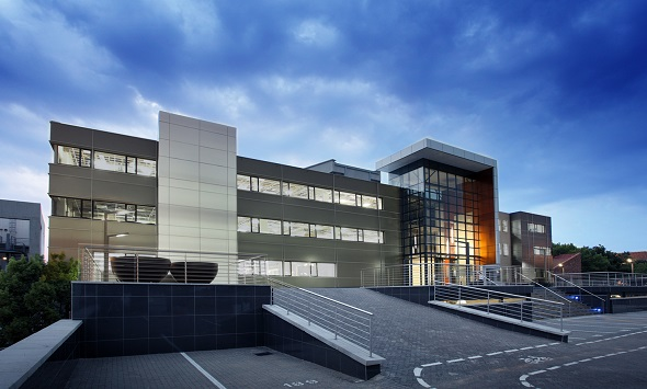 The Lakeside Office Building in Centurion. Image supplied by: AMA Architects