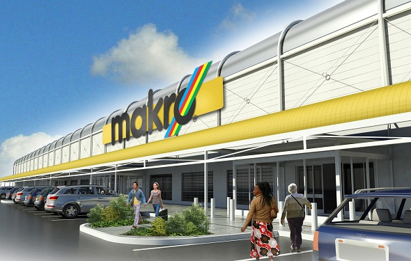 Makro Alberton artists impression - front