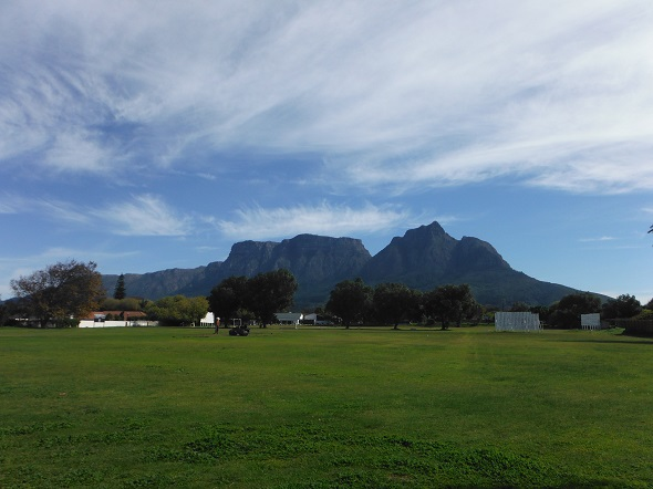 A partial view of the 30,000 m2 site where the R140 million Rondebosch Oval residential development will be built.