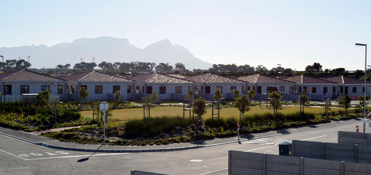 The Watergate Estate development is situated on the corner of AZ Berman Drive and the R300 Freeway in Mitchell's Plain