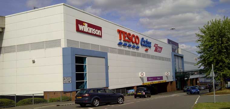 Weston Favell Shopping Centre in Northampton, England