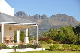 This olive farm is set on 23 hectares between Stellenbosch and Somerset West. It is priced at R17.5 million