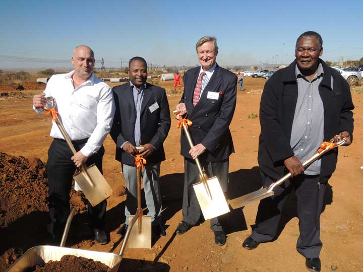 Sod-Turning