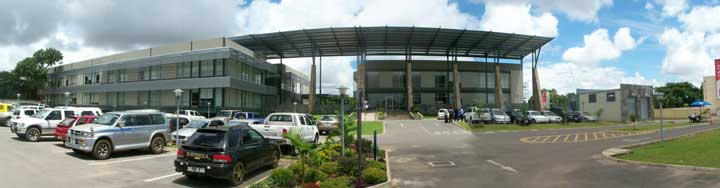 Stanbic Bank head office in Zambia