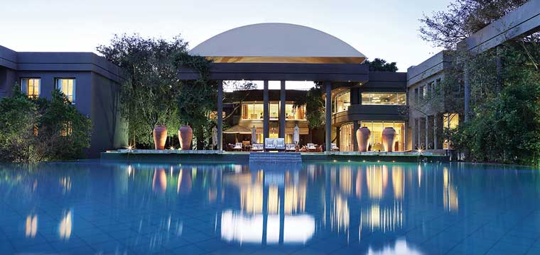 The Saxon Hotel, which is one of the star performers in the Johannesburg 5 star hotel market.
