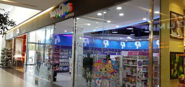 Recently opened Toys R Us store at Morningside Shopping Centre