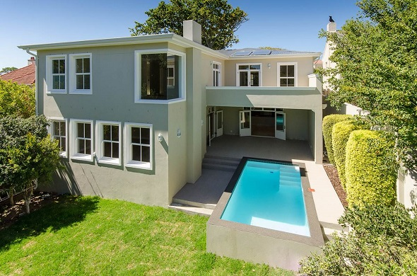 This brand new home occupies a prime position in Upper Claremont. The home is for sale exclusively through Pam Golding Properties, priced at R10.2 million.