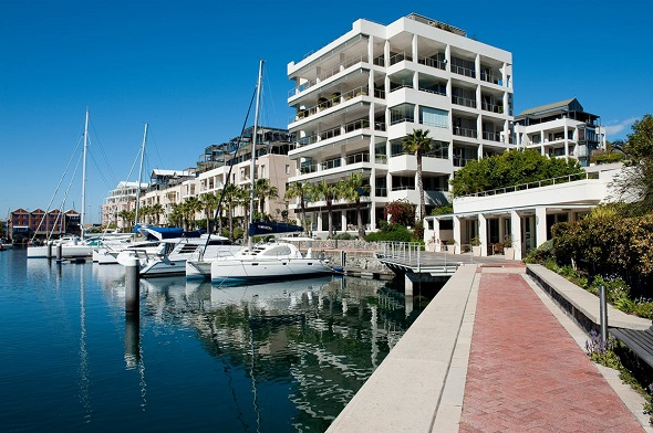 Pam Golding Properties is marketing one of the most exclusive apartments in the V&A Waterfront, a three-bedroom duplex penthouse in the Pinmore building. Measuring a substantial 833sqm, the apartment has views over the yacht marina and ocean, as well as back views over Table Mountain. Spacious reception rooms provide an entire floor of entertainment space, including a private swimming pool. The apartment offers every conceivable luxury including air-conditioning, under-floor heating and a private direct-access elevator. It is on the market at R65 million.