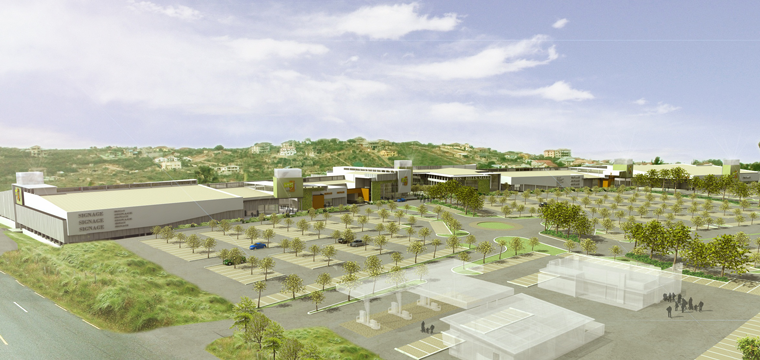 In Ghana, Atterbury Africa, which is jointly held by Attacq, Atterbury and Hyprop, will open West Hills Mall in the country's capital Accra.