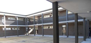 The first high school built at Bardale Village, which should be complete and ready for its first intake of students in January 2014.