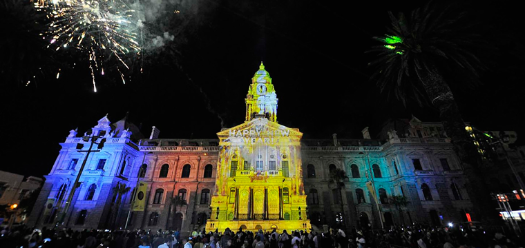 New Year's Eve celebrations at the City Hall