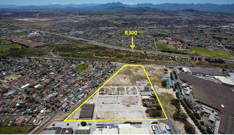 Industrial development site in Bellville, Western Cape