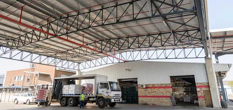 Sasko Warehouse in Durban