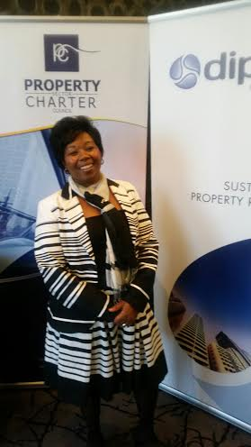 CEO of the Property Sector Charter Council, Portia Tau-Sekati