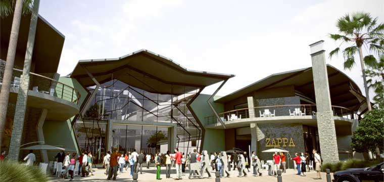 Artist rendering of Cradlestone Mall, west of Johannesburg
