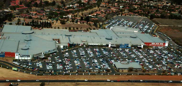 Existing Vaal Mall Shopping Centre in Vaal Triangle