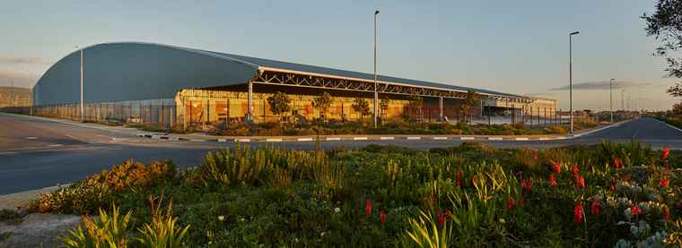 The new Massmart Distribution Centre at Brackengate 2 in the Western Cape.