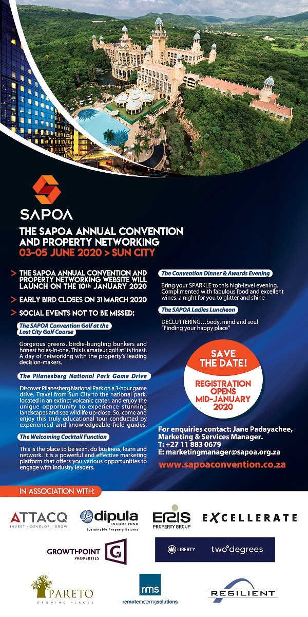 SAPOA 2020 Registration